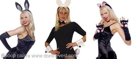 костюмы зайчиков и кошечек на девичник