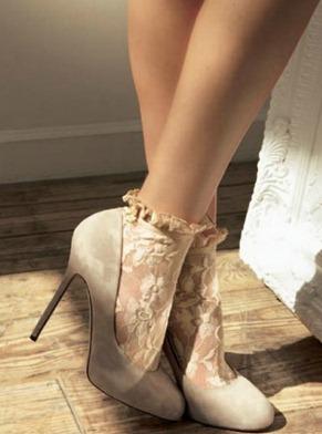 свадебные носки
